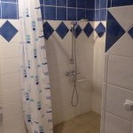 Downstairs wheelchair accessible shower room